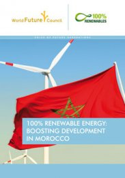100% Renewable Energy: boosting Development in Morocco