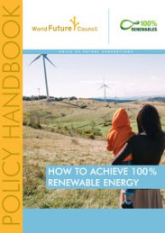 How to achieve 100% Renewable Energy