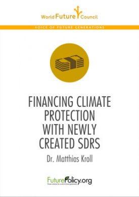 Financing Climate Protection with newly created SDRs
