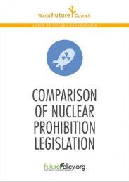 Comparison of Nuclear Prohibition Legislation