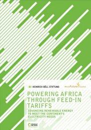 Powering Africa through feed-in Tariffs