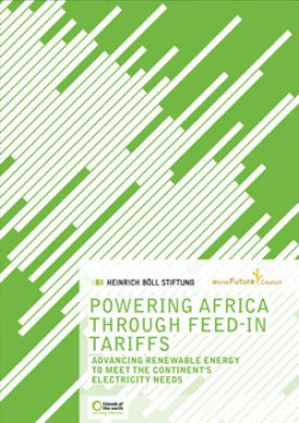 Powering Africa through feed-in Tariffs